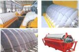 Filtro a disco di ceramica utilizzato per l'asciugamento dei residui di estrazione mineraria