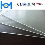 3.2mmの低い鉄が付いている4.0mm太陽緩和されたガラスシートPVガラス