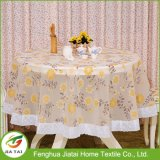 Tablecloth plástico impresso do Tablecloth do laço costume plástico