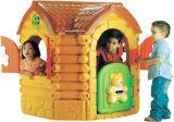 Casa plástica para miúdos