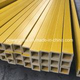 Câmara de ar quadrada amarela da fibra de vidro FRP da câmara de ar
