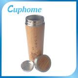 2015 tazas de consumición de bambú del último diseño, venta al por mayor de bambú de la taza de té del acero inoxidable