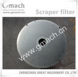 Filter-Platte für Scrraper Typen Schmelzfilter
