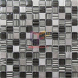 Мозаика украшения стены самомоднейшей конструкции кристаллический смешивания алюминиевая (CFA88)
