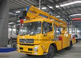 Meters Vrachtwagen van de Hoge Hoogte van Dongfeng 4*2 Lucht 22 van de Werkende