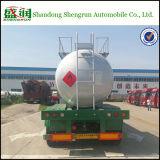 3-Axle 30000L Edelstahl LPG-Becken-halb Schlussteil für ätzende Flüssigkeit