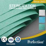 Papier de Crepe médical d'autoclave de matériau d'emballage