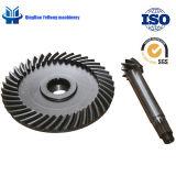 L'attrezzo elicoidale di alta qualità BS5059 7/40 può essere ingranaggi conici personalizzati di spirale della trasmissione dell'attrezzo