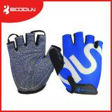 Le meilleur levage de recyclage de vente de gants et de poids de logo d'impression de silicium