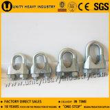 Galvanizado nos tipo clip de cuerda maleable de alambre de Casted