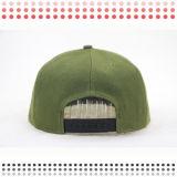 Sombrero máximo plano de encargo del Snapback de Snakeskin