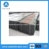 Bloque popular del contrapeso del elevador de la placa de acero del compuesto del arrabio (OS45)