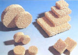 Filtre en céramique poreux de mousse d'oxyde du Zirconia/Zro2/Zirconium