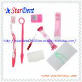 Zahnmedizinische Zahnbürste Orthodotnic Installationssätze mit Wachs