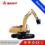 Sany Sy305 un escavatore idraulico medio da 35 tonnellate con la carrozza fatta in Cina da vendere