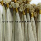 European Remy Blonde Flat Tip Human Hair Extensions