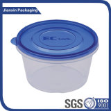 tazón de fuente plástico disponible del alimento 750ml con la tapa