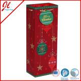 Weihnachtsflaschen-Wein-Papiertüten mit dem heißen Stempeln und Griff