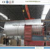15tpd熱分解オイルを得る不用なタイヤの精錬の機械装置