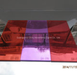 ミラーのアクリルシートによって投げられるアクリルかPlexiglass/PMMAシートを反スクラッチしなさい