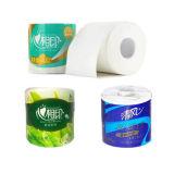 Chaîne de production de papier hygiénique machine à emballer sanitaire de Rolls