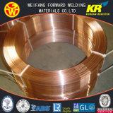 金橋4.0mm EL12固体はISO9001の専門の溶接ワイヤの製造業者からのワイヤーを見た