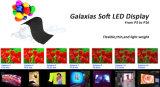 Visualizzazione di LED flessibile Galaxias per l'esposizione della fase