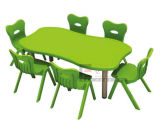 Colorful Kids Round Table / Children School Furniture (SF-23K)
