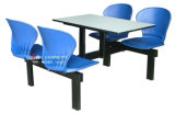 6-Seater School Canteen Furniture Student Dining Table & Chair