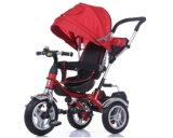 차양 (OKM-1379)를 가진 세발자전거를 접혀 최고 급료 아이