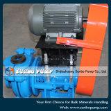 Équipé de la boue centrifuge d'entraînement de cv de moteurs pompe horizontal