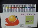 De acryl Reeks van de Verf van de Kleur, de Verf van de Kleur, AcrylVerf