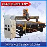 Máquina de madera del CNC del buen precio de Ele 2040, la mejor máquina de talla de madera del CNC 3D para los muebles, puerta de Kfc