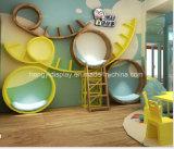 Meubles colorés d'étalage de système pour la décoration de système des vêtements des enfants