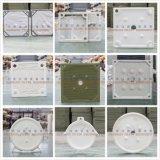 Placa de filtro reforzada fibra de vidrio da alta temperatura del polipropileno