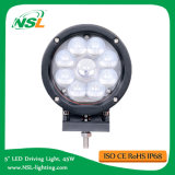 5.5inch Round 9PCS X 5W CREE LED 4000lm Spot Flood 45W CREE LED Driving Work Light, Auto 4X4 Jeep SUV Boat Truck Offroad Fog Head Light 12V24V