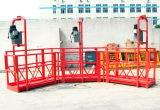 Venda por atacado suspendida dobro de trabalho psta aço da plataforma Zlp630