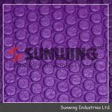 Sunwingの卸し売り紫色のゴム製麻布TPEのヨガのマット