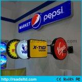 屋外LEDアクリル型のライトボックスを吸う中国の卸売