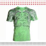 2016 T-shirts faits sur commande de sport de circuit de coton de modèle neuf