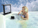 Form Outdoor SPA mit Waterproof Fernsehapparat