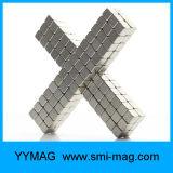 o ouro 216PCS de 5*5*5mm revestiu o ímã do Neodymium do bloco do cubo N35