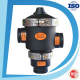 3 Inch 24V Three Way Solenoid Drain Hydraulic Control Flush Valve