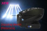 新型くも6PCS RGBW LEDの移動ヘッドビームライト
