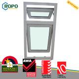 새로운 디자인 UPVC/PVC 플라스틱 이중 유리를 끼우는 차일 Windows