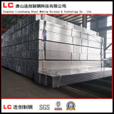 Tubo cuadrado/rectangular galvanizado sumergido caliente