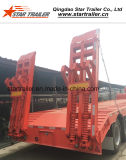 reboque de 4axles 100ton Lowbed Semi