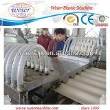 Ligne d'extrusion de toit d'onde glacée par PVC de coextrusion