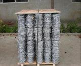 Изготовление колючей проволоки двойной стренги/гальванизированная стальная спиральная колючая проволока