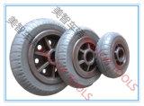 Tailles de large éventail des roues en caoutchouc solides de chasse de pneu